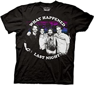 Ripple Junction The Hangover What Happened Last Night Adult T-Shirt