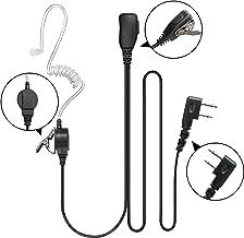 Guanshan Acoustic Tube Earphone Headset Earpiece Mic for ICOM IC-F3011 IC-F4011 IC-F3001 IC-F4001 IC-F1000 IC-F2000 IC-F3210D IC-F4210 IC-F3230D IC-T70A V80 A24 A6 A14 Two Way Radio