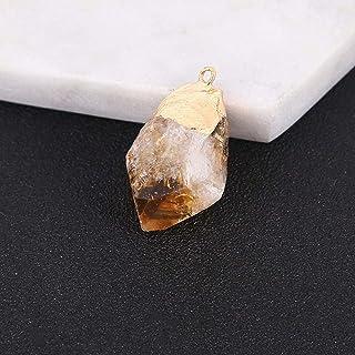 Jewelry Making piedra cristal curaci/ón ag-7309 Raw esp/écimen Mineral Natural amarillo citrino oro piedra Rough