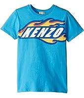 Kenzo Kids - Race Logo Tee (Big Kids)