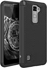 LK Case for LG Stylo 2, [Shock Absorption] Drop Protection Hybrid Dual Layer Armor..