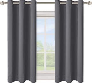 BONZER Grommet Blackout Curtains for Bedroom - Thermal Insulated, Energy Efficient, Noise Reducing and Light Blocking, Roo...