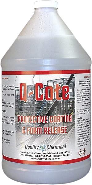 Q Cote Paraffin Based Concrete Form Release Agent 1 Gallon 128 Oz