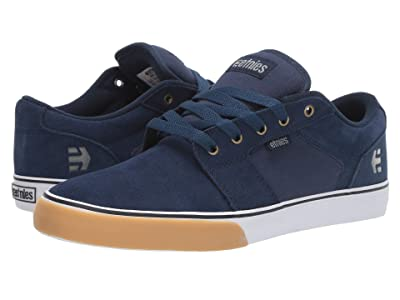 etnies Barge LS (Navy/Tan/White) Men