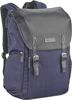 Cullmann Bristol Daypack 600+, dunkelblau, Kamerarucksack mit Notebook Fach, Vintage