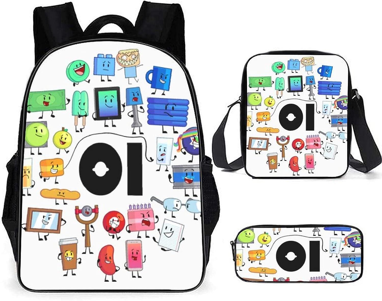 SALENEW very popular! Blueguigui BFB And TPOT three piece 3D anime bag Japan's largest assortment Student school