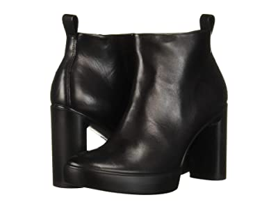 ECCO Shape Sculpted Motion 75 Ankle Boot (Black) Women