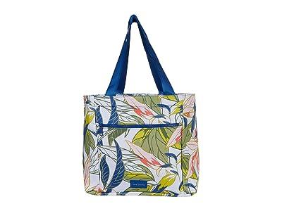 Vera Bradley ReActive Drawstring Family Tote (Rain Forest Leaves) Tote Handbags