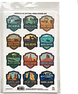 Best national parks stickers Reviews