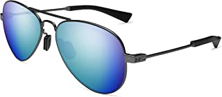 Under Armour Ua Getaway M Polarized Aviator Sunglasses Gunmetal 56 mm