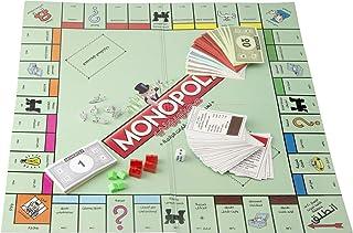 رقعة لعب محمولة قابلة للطي من مونوبولي، لعبة تفاعلية عائلية، لوحة بطاقات، لعبة اللغاز، لعب اطفال