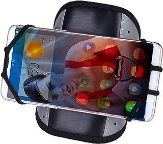 """Qrity Brazalete del teléfono celular(4.7"""" a 6''), Pulsera Deportivo de la cubierta del caso para correr Ejercicio de ejercicios de gimnasia para iPhone 5/5S/5C 6, 6S, 7, 8 X, Plus, Touch Android, Samsung Galaxy S5, S6, S7, S8, S9, Note 8, 5 Edge Pixel, Rotación de 360°"""