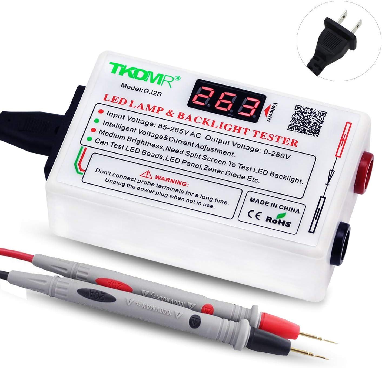 0-100A seccionamiento de transformadores rongweiwang CA La Pantalla Texter Actual Detector de Voltaje del medidor LED Detector mult/ímetro Digital Monitor de energ/ía