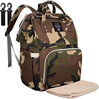 camouflage diaper bag