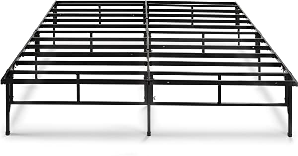 Zinus Dawn 14 Inch Easy To Assemble SmartBase Mattress Foundation Platform Bed Frame Box Spring Replacement Queen