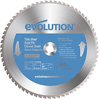 Evolution Power Tools 14BLADETS Tooth Thin Steel Cutting Blade, 14-Inch x 90-Inch
