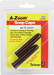 A-ZOOM Government Precision Snap Caps (2 Pack) (45-70-mm)