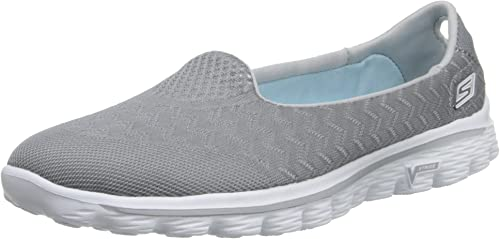 Skechers Performance Wohommes Go Walk 2 Axis Axis Axis Slip-On Walking chaussures,gris,9 M US 507