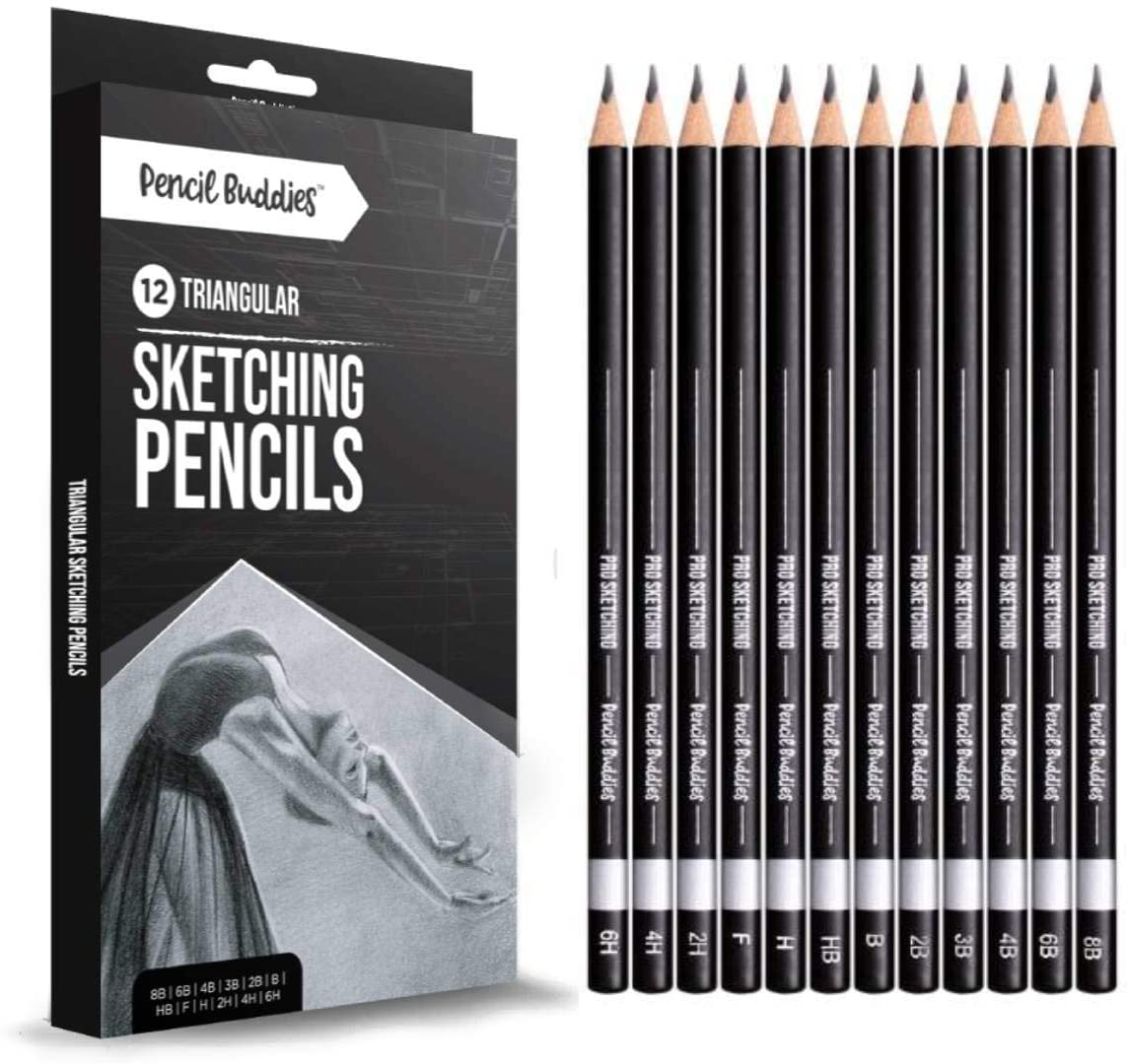 Pro Triangular Drawing Sketch Pencils Set Fixed price Cheap SALE Start for sale –