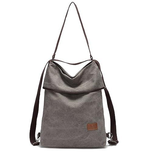 6fc9df838 Travistar Women Multifunction Shoulder Bag Canvas Crossbody Casual Daypack  Handbag for work and daily use
