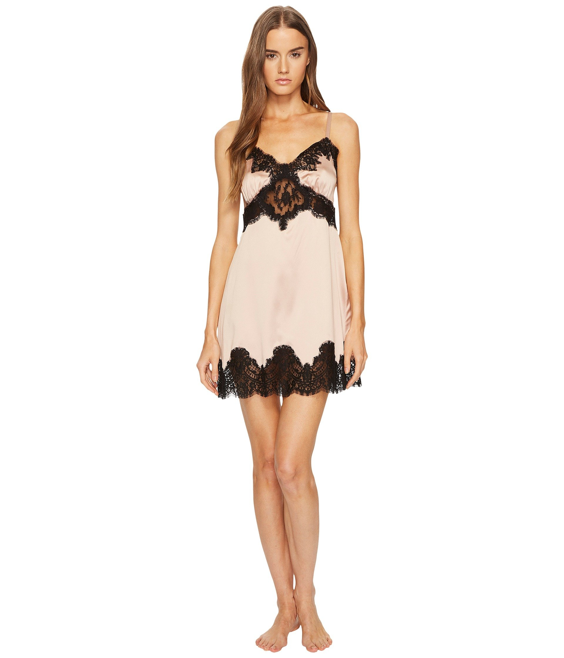 Babydoll Dolce andamp; Gabbana Silk with Lace Nightgown Sottoveste  + Dolce & Gabbana en VeoyCompro.net