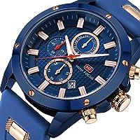 Mini Focus Men's Waterproof Quartz Luminous Designer Dress Business Wristwatch