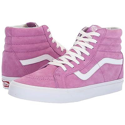 Vans SK8-Hi Reissue ((Pig Suede) Violet/True White) Skate Shoes