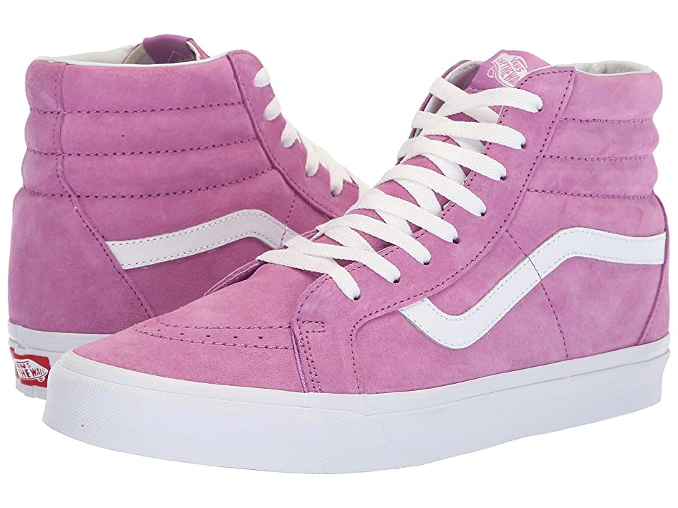 Vans SK8-Hi Reissue ((Pig Suede) Violet/True White) Skate Shoes
