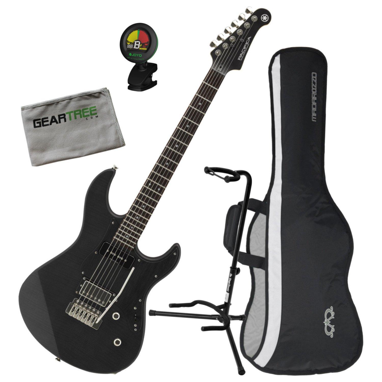Cheap Yamaha PAC611VFMX MRBL Limited Edition Electric Guitar Matte Trans Black w/Bag Black Friday & Cyber Monday 2019