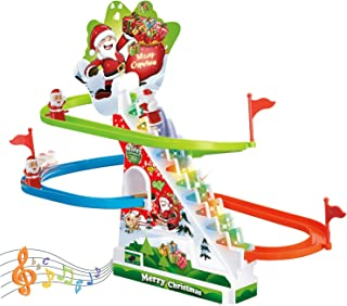 Race Track Set, Toddler Roller Coaster Toys with Lights and Music, Novelty Toys for Boys and Girls