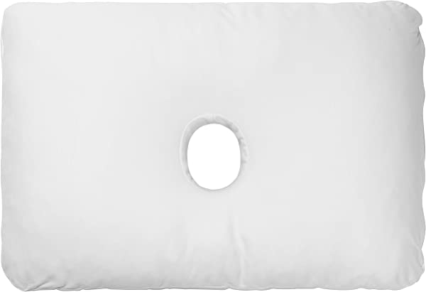 PureComfort Pillow With An Ear Hole CNH Ear Pain Pillow Adjustable CertiPUR US Premium Memory Foam Fill 5Yr Warranty 100 Night Trial