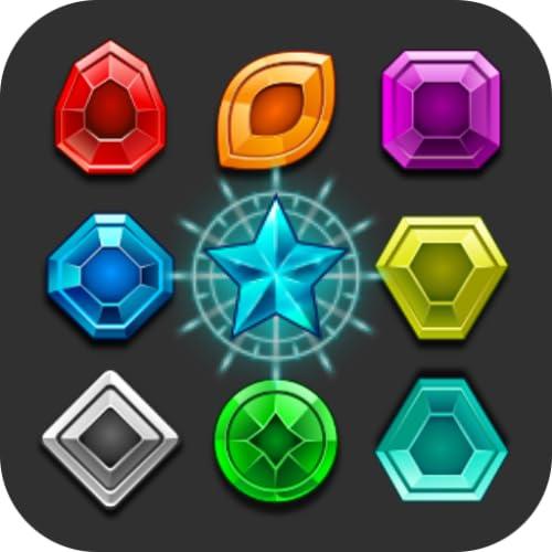 Magisches gem - Passend 3 Puzzle