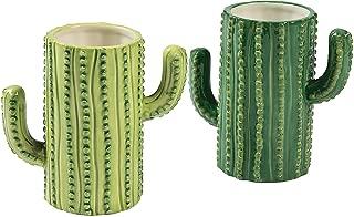 Ceramic Cactus Tumblers-set of 4