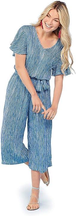 Stripe Julie Jumpsuit