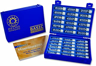 Helios Homeopathy 36 Homeopathic Remedy Deluxe Family Kit