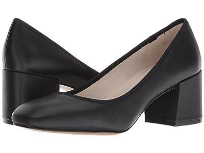 Kenneth Cole New York Eryn (Black Leather) Women