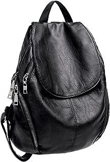 UTO Women's Pu Leather Size Upgraded Version- Bag Large _Large Black