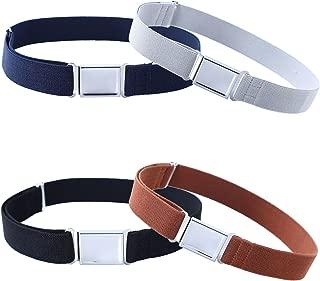 4PCS Kids Boys Adjustable Magnetic Belt - Elastic Belt...