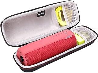 LTGEM EVA Hart Fall Reise Tragen Tasche für Ultimate Ears UE BOOM 2 Kabelloser und Bluetooth Lautsprecher.Passt USB Kabel und Wand Ladegerät.