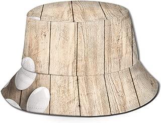 Fisherman Cap Happy Dog (38) Men's Fisherman Hat Wide Brim Bucket Cap Sun UV Protection for Travel Sports Fishing