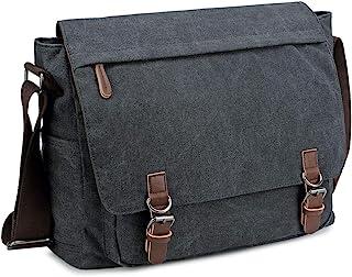 کیف مسنجر مردانه یک پارچه یکپارچهسازی با سیستمعامل کیف شانه کیف دستی کیف دستی گاه به گاه مناسب 13.3 15.6 اینچ لپ تاپ