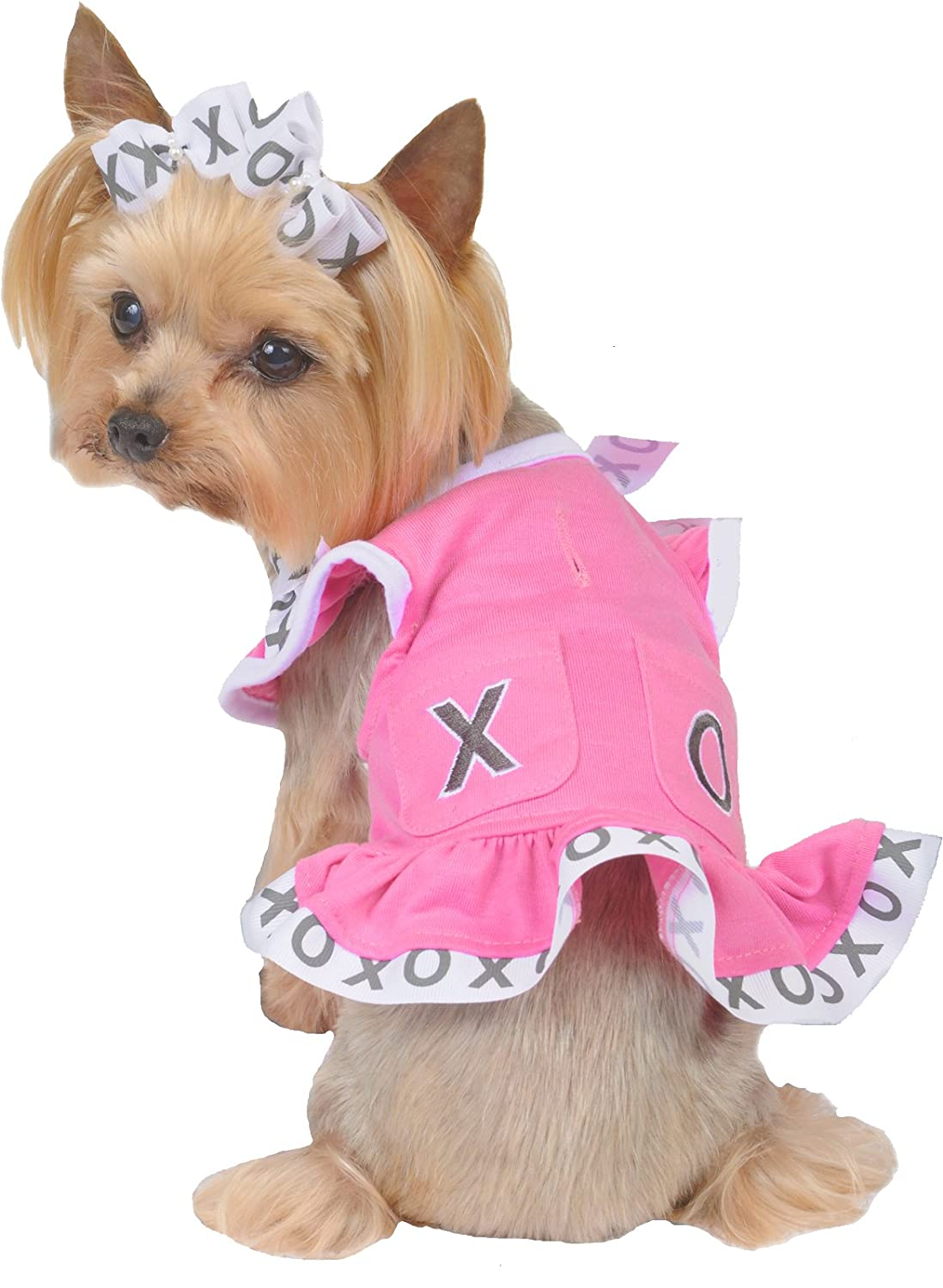 Max's Closet X and O Pocket Dog Dress, X-Small : Amazon.in: Pet Supplies