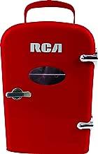 RCA Mini Compact Refrigerator – Red