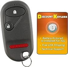 For 01-05 Honda Civic EX LX DX, 03-07 Honda Pilot Keyless Entry Remote Key Fob 3btn NHVWB1U521, NHVWB1U523, 72147-S5A-A01