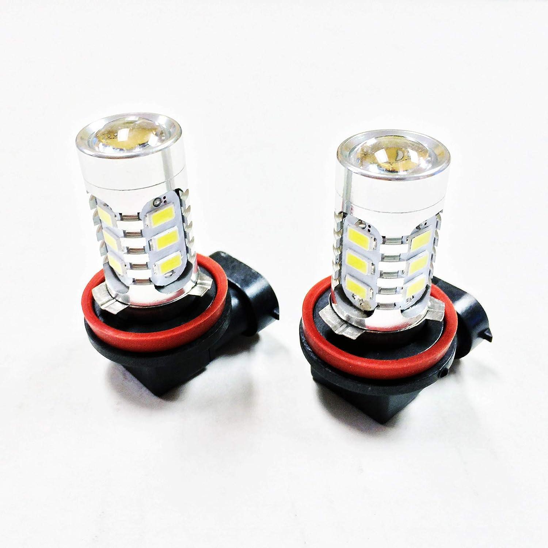 H11 H9 H8 15w High Power Bright Car LED Bulbs 5730 15SMD Fog light//Driving Light