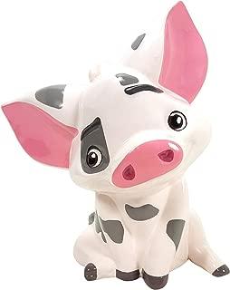 Disney Moana Pua Ceramic Piggy Bank - Collectible Gift Item for Boys, Girls, Adults, Baby, Moana Fan!