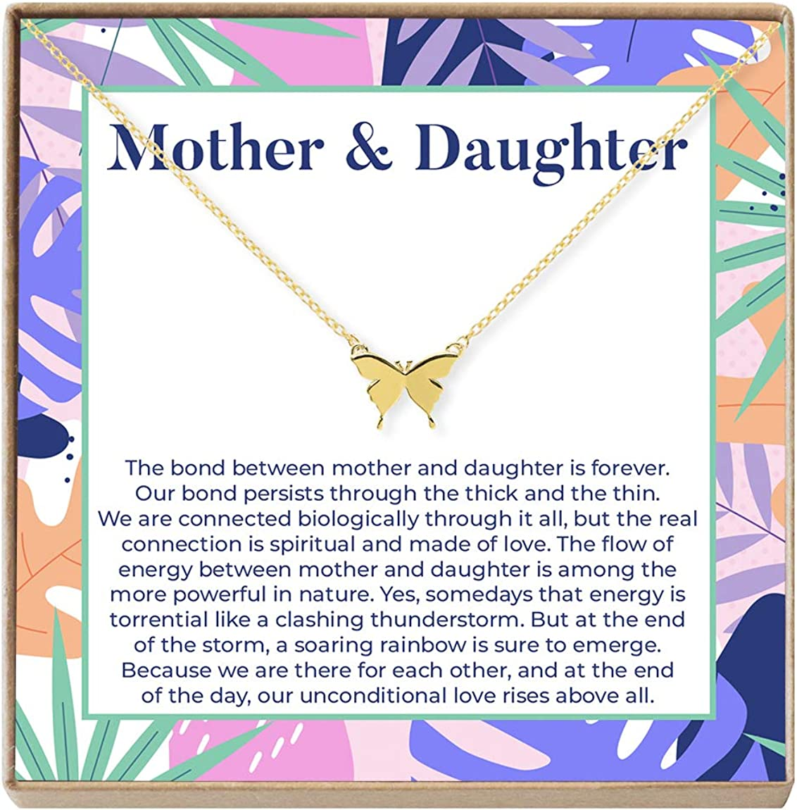 Mother Daughter Necklace - Max 51% OFF Gift ideas Card New life Jewelr Heartfelt