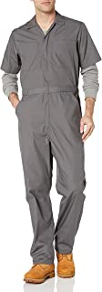 Amazon Essentials Stain & Wrinkle-Resistant Short-Sleeve Coverall Overalls-And-Coveralls-Workwear-Apparel, Scarpette a Str...