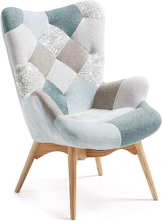 Poltrona, azzurro, 70 x 78 x 96 cm fashion commerce, fc7 FC773