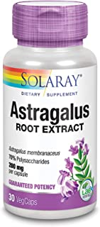 Solaray Astragalus Extract, 200mg, 30 Count